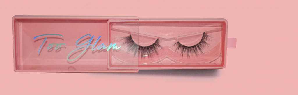 Shop too glam lashes 3d faux mink premium lashes - hoe breng je nepwimpers aan