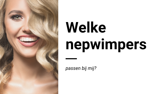 Welke nepwimpers blog cover